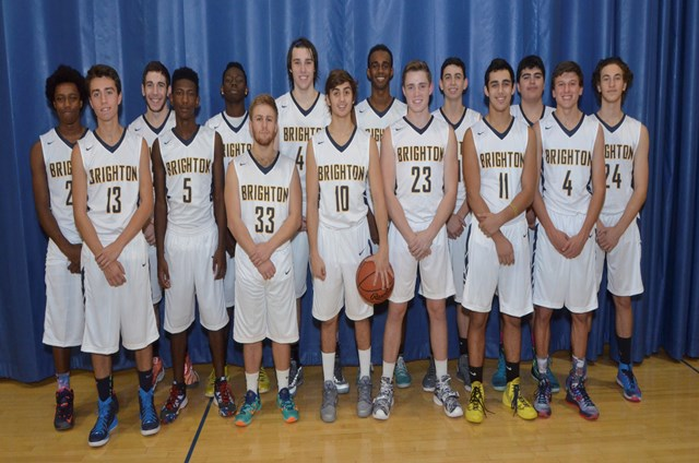 Brighton High School Basketball 2015-2016