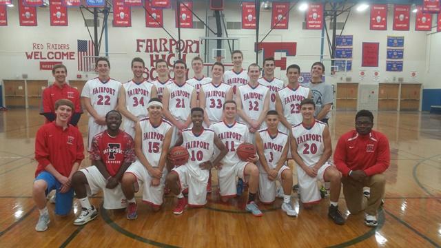 Fairport High School Basketball 2015-2016
