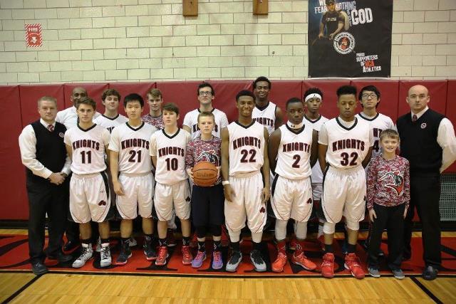 Northstar Christian Academy Varsity Basketball 2015-2016