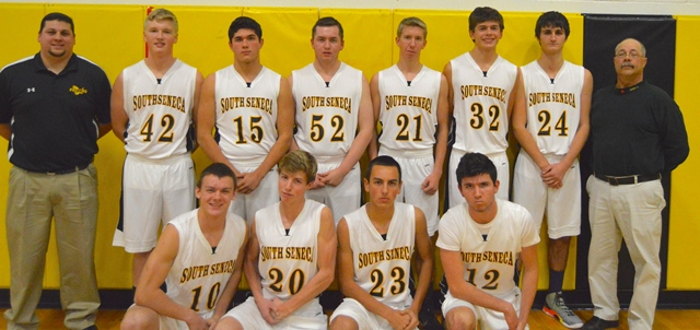 South Seneca High School Varsity Basketball 2015-2016