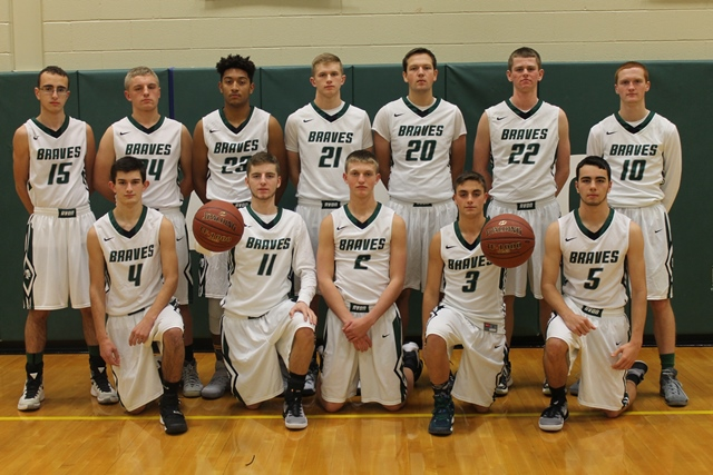 Click here to return to Section V Boys' Basketball